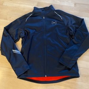 Under Armour Cold Gear Men's Large full Zip jacket